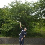 韓国ボランティア、テニス、悠合個展005