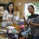 韓国ボランティア、テニス、悠合個展003